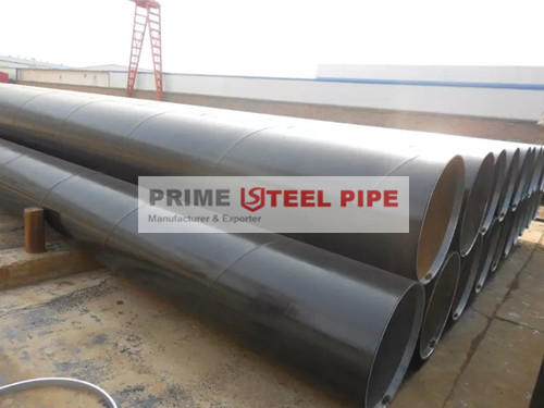 PRIME STEEL PIPE: Order---SSAW Steel Pipe with 3PE coating shipped