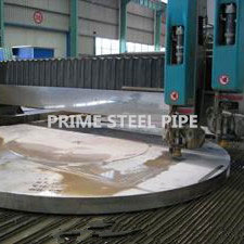 ss pipe flange mirror bright treatment