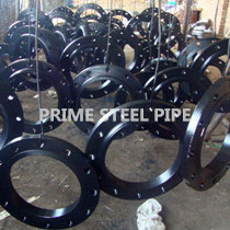 cs pipe flange black painted