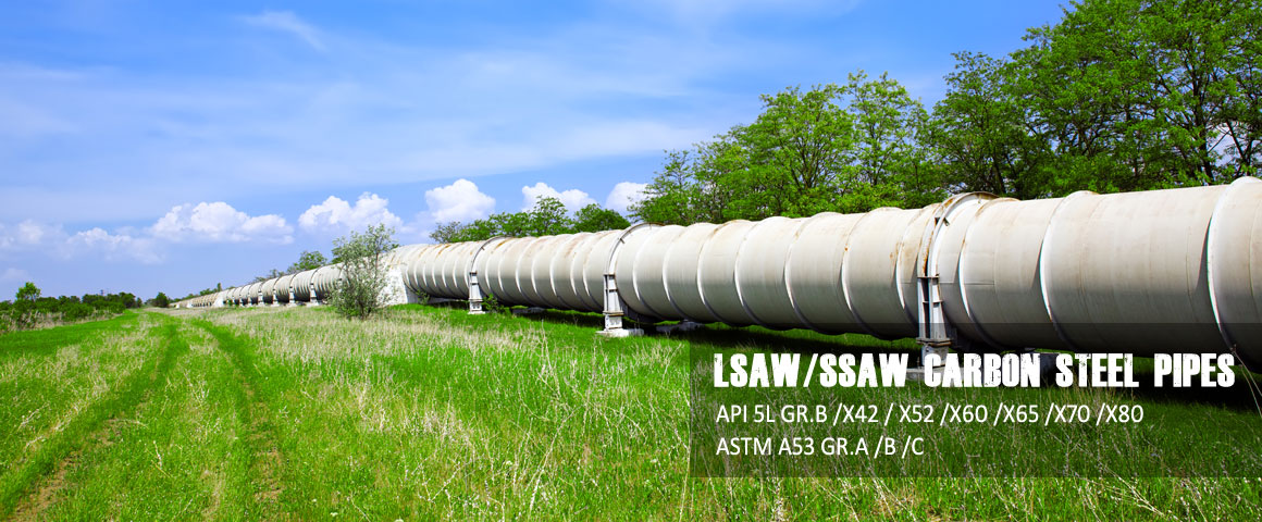 lsaw ssaw carbon steel pipe